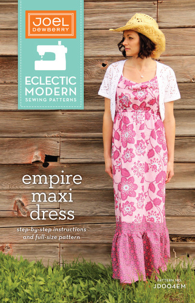 Pattern - Empire Maxi Dress by Joel Dewberry