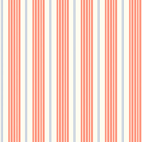 Children at Play Racer Stripes Coral Flannel-michael miller Children at Play Racer Stripes Coral Flannel Fabric #FD5163 Sarah Jane