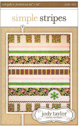 Pattern - Simple Stripes Quilt by Jody Taylor