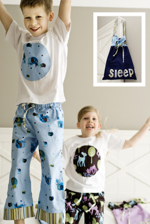 Pattern - Slumber Party Jammies by Make it Perfect-Sewing Pattern Make it Perfect slumber party jammies pajamas