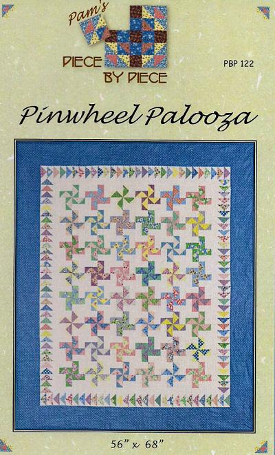 Pattern - Pinwheel Palooza by Piece by Piece