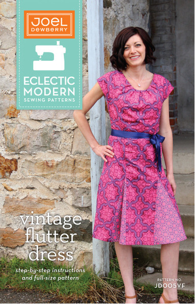 Pattern - Vintage Flutter Dress by Joel Dewberry