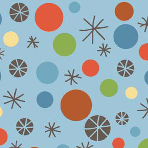Scoot Dots Blue Flannel-riley blake designs flannel fabric deena rutter scoot blue 2722 dots