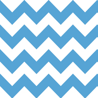 Riley Blake Flannel Basics Medium Chevron Med Blue-Riley Blake Designs Flannel Fabric Basics Medium Chevron Stripe Blue White F320-22