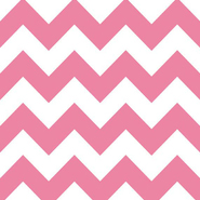 "Riley Blake Flannel Basics Medium Chevron Hot Pink - 16"" Remnant"