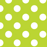 Riley Blake Flannel Basics Medium Dots Lime Green