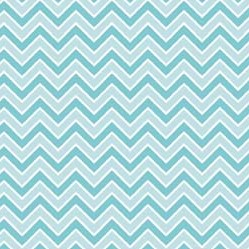 Alpine Basics Chevron Aqua Flannel