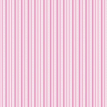 Alpine Basics Stripe Pink Flannel