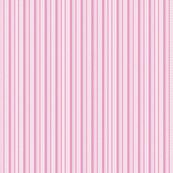 Alpine Basics Stripe Pink Flannel