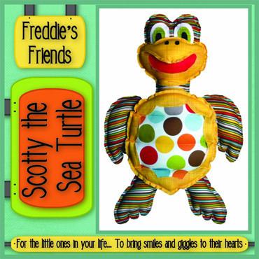 Pattern - Scotty Sea Turtle by Freddies Friends
