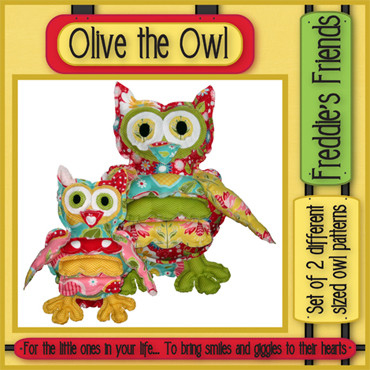 Pattern - Olive the Owl by Freddies Friends