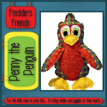 Pattern - Penny the Penguin by Freddies Friends