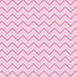 Alpine Basics Chevron Pink Flannel