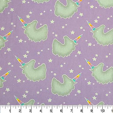 Comfy Rainbow Unicorn Silhouette Flannel