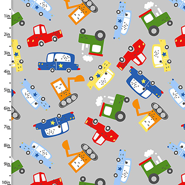 Drivers Wanted Traffic Jam 16783-GRY Flannel
