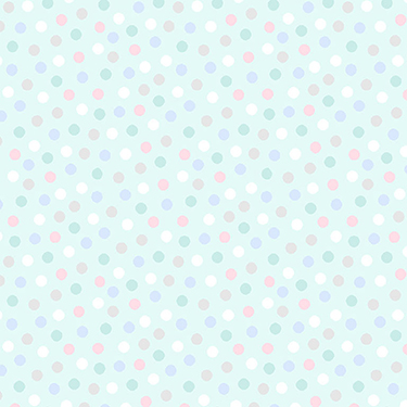 Snuggle in the Jungle Dot Light Turquoise Flannel