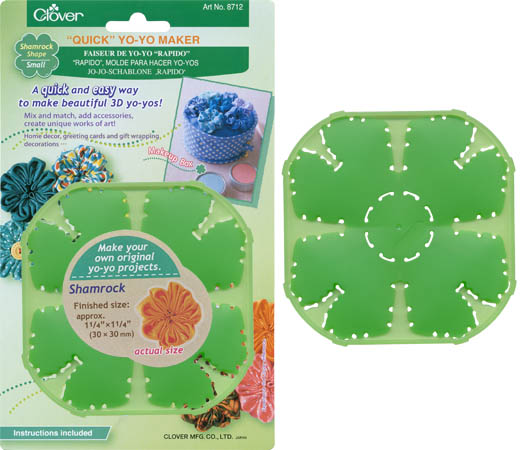 Clover Quick YO YO MAKER Small Shamrock 8712