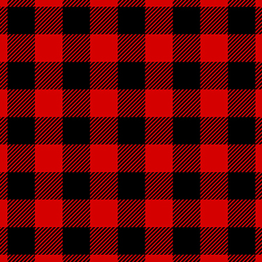 Buffalo Plaid Red Black David Textiles Flannel