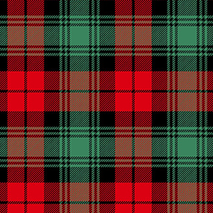 Red Green Christmas Plaid David Textiles Flannel