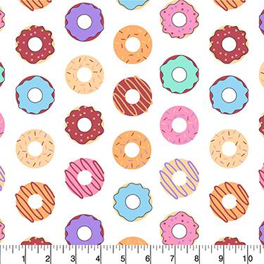 Donut Dots David Textiles Flannel