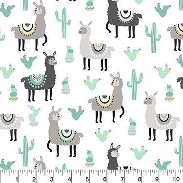 Desert Llamas David Textiles Flannel