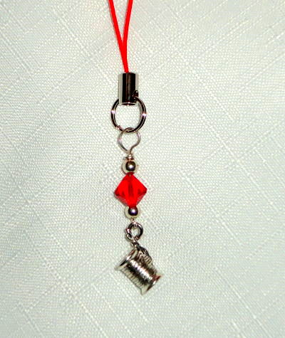 Scissor Pal - Thread Spool with Red Crystal
