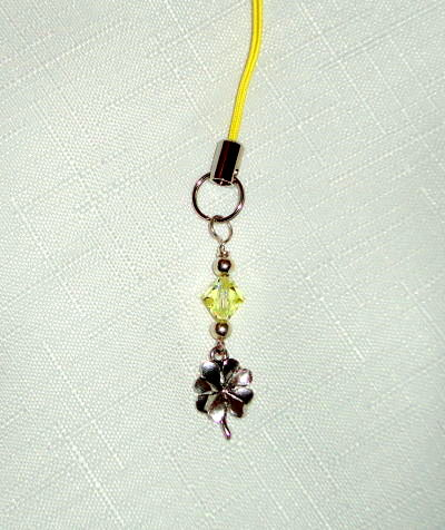 Scissor Pal - Shamrock with Yellow Crystal