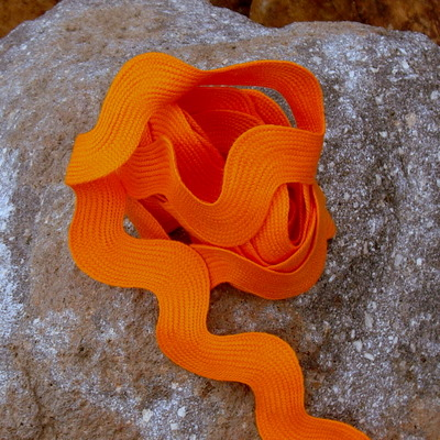 Jumbo Ric Rac - 3 yards Orange