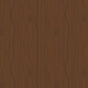 Woodland Wood Grain Brown Flannel F10633
