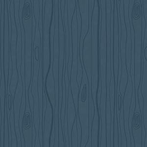Woodland Wood Grain Navy Flannel F10633