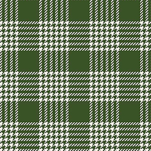 Yuletide Plaid Green Flannel F9973
