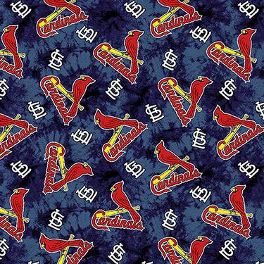 St. Louis Cardinals MLB Tie Dye Background Flannel