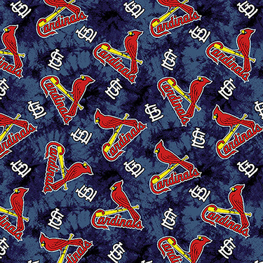 St. Louis Cardinals MLB Tie Dye Background Flannel