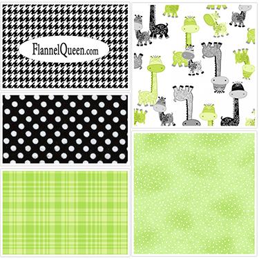 FQ Bundle - Giraffe Green Black