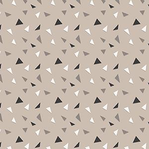 Furr-Ever Friends Triangle Confetti Flannel F1950-33