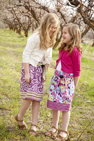 Pattern - Junior Meadow Spirit Skirt by Joel Dewberry