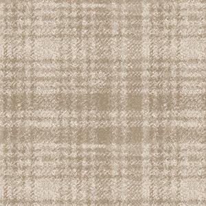 Classic Woolies Windowpane Light Tan Flannel MASF18501-E
