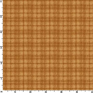 Classic Woolies Plaid Orange Flannel MASF18502-OO