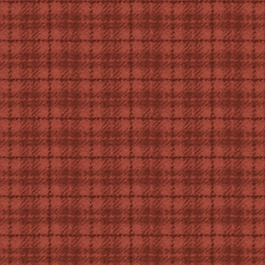 Classic Woolies Plaid Red Orange Flannel MASF18502-RO