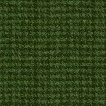 """Classic Woolies Houndstooth Green Flannel - 26"""" Remnant"""