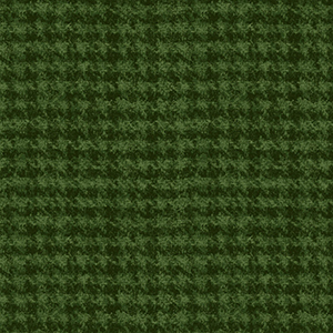 Classic Woolies Houndstooth Green Flannel MASF18503-G