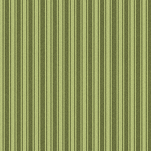 Wild Rose Stripe Green Flannel MASF7895-G