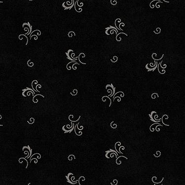 Heritage Woolies Little Fancies Black Flannel MASF9424-J