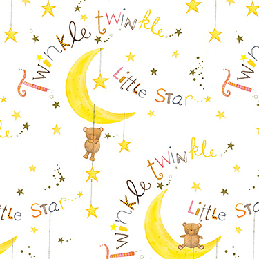 Comfy Cutest Twinkle Little Star Flannel