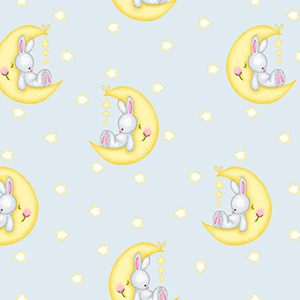 Comfy Cutest Moonbeam Bunnies Flannel