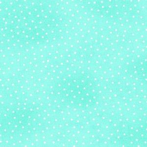 Comfy Micro Dot Aqua Tonal Flannel