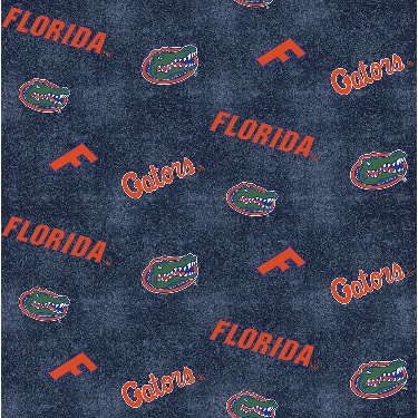 University of Florida Gators Distressed Logo Toss Flannel
