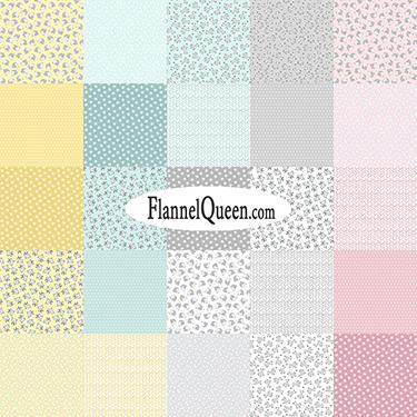 FQ Bundle - Snuggle in the Jungle Flannel by Benartex