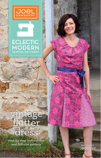 Pattern - Vintage Flutter Dress by Joel Dewberry