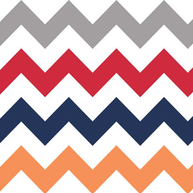Riley Blake Medium Chevron Boy